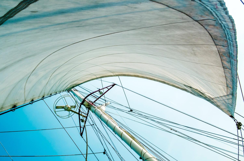 Segel im Wind für Coaching